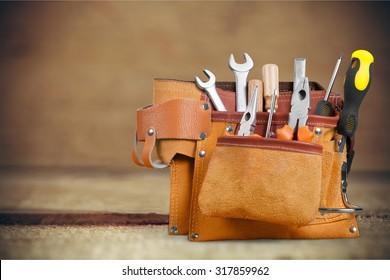 Handyman tool belt.