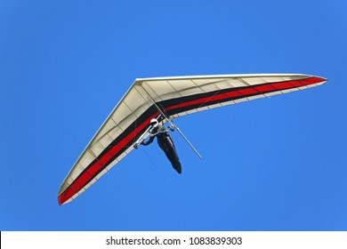 Hang Glider flying