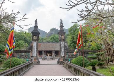 Hang Mua Temple Ninh Binh Province, Ha Noi Vietnam 23 Dec 2018