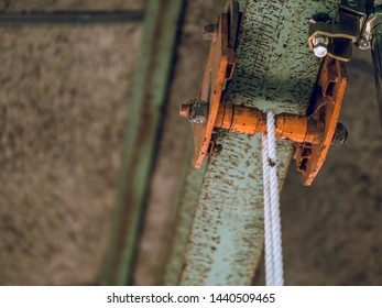 Hang rope string in Japan factory