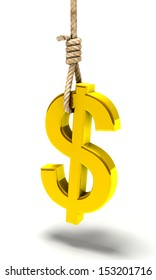Hanged currency