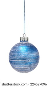 Hanging Bauble isolated on a white background