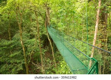 Hanging bridge, Costa Rica