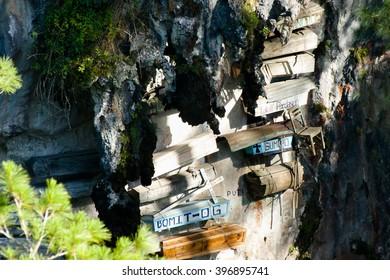 Hanging Coffins - Sagada - Philippines