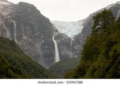 Hanging Glacier - Queulat National Park - Chile
