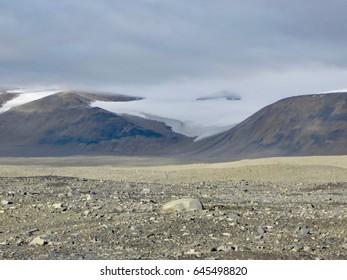 Hanging Glacier Taylor Dry Valley