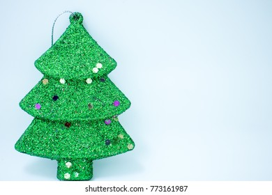 Hanging Green Christmas Tree Decorations