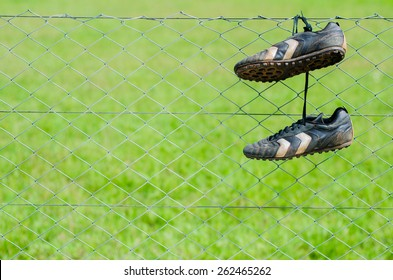 Hanging up his boots
