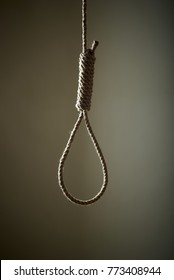 The hanging knot used for execution.