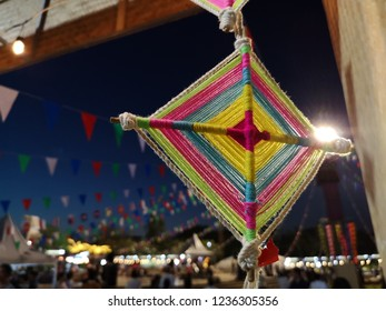 hanging decorated​ of northeast for Loy Krathong Festival. northeast​ of Thailand​