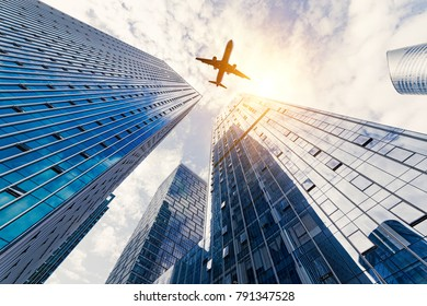 Hangzhou Center high-rise buildings