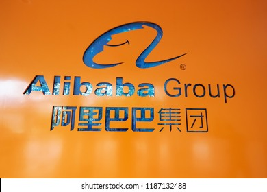 hangzhou,CN-Sep 10th,2018:Alibaba Group location in hangzhou,zhejiang. Alibaba Group Holding Limited is a Chinese e-commerce company founded in 1999 by Jack Ma. It serves worldwide.