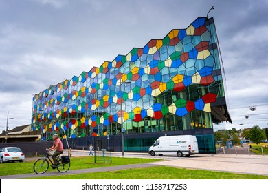 Hanley, Stoke on Trent, Staffordshire - 17th August 2018 - One Smithfield Stoke City Council offices in Hanley, the Potteries
