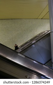Hannover, Germany - 01.14.19 : Kröpcke Underground Station