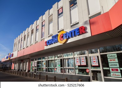 HANNOVER / GERMANY - NOVEMBER 27, 2016: Siemes Schuhcenter ( shoe center ) store. Siemes Schuhcenter GmbH & Co KG based in Moenchengladbach is a family-run company in the shoe trade.