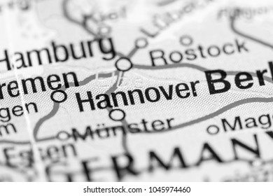 Hannover, Germany  on a map