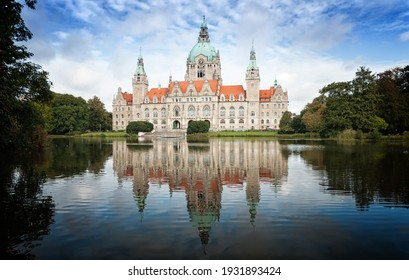 Hannover New City Hall in Germany