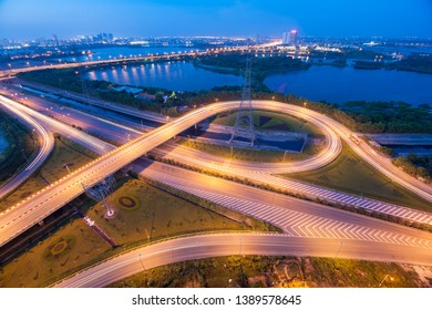 hanoi cityscape longexposure blue hour