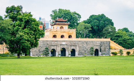 Hanoi Imperial Palace Vietnam South East Asia. Most certainly a main attraction to those visiting the are for pleasure or sightseeing.