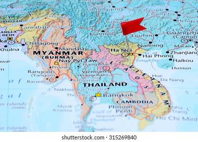 Ha Noi Vietnam Map.Hanoi Vietnam Map Stock Photos Images Photography Shutterstock
