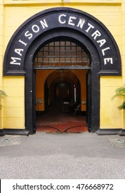 HANOI, VIETNAM -10 AUGUST 2016- Built by the French during colonial Indochina, the Maison Centrale Hoa Lo Prison was nicknamed the Hilton Hanoi during the Vietnam War. John McCain was prisoner there.