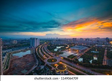 Hanoi, Vietnam Cityscape
