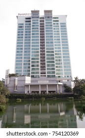 Hanoi Vietnam November 11 2017 View of Sheraton Hotel in Ha noi