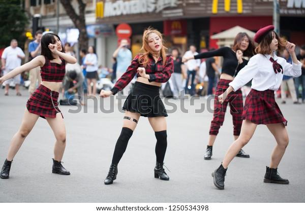 Hanoi Vietnam November 24 2018 Freestyle Stock Photo (Edit Now