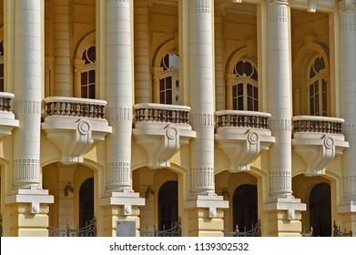Hanoi, Vietnam opera house.