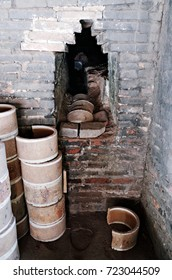HANOI, VIETNAM - September 14, 2017 : Klin at Bat Trang Ceramic Village - Bat Trang Ceramics Village is a 14th century porcelain and pottery village near Hanoi