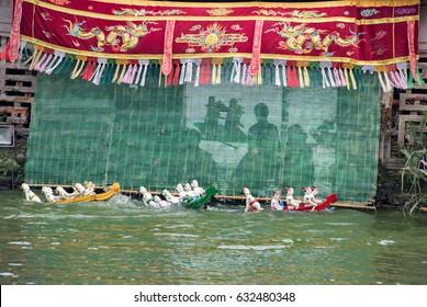 Hanoi Water Puppets - Fairy Dance