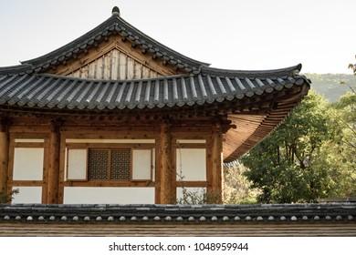 Hanok, Korean style traditional house