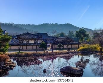 Hanok Village, Traditional Korean Architecture for Ancient Aristocrat