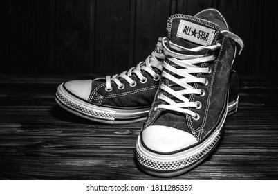 Old Converse Shoes Images, Stock Photos & Vectors   Shutterstock