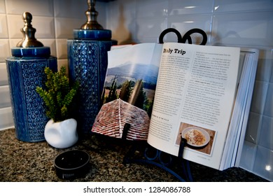 HANOVER, MD, USA - MARCH 21, 2018: Modern home interior.