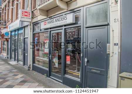 ba51aeecf5a09e Hans Anders Opticians Shop Amsterdam East Stock Photo (Edit Now ...
