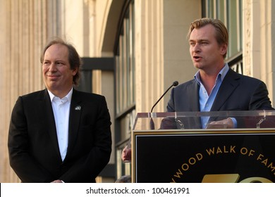 Hans Zimmer and Christopher Nolan  at Hans Zimmer Honored With Star On The Hollywood Walk Of Fame, Hollywood, CA. 12-08-10