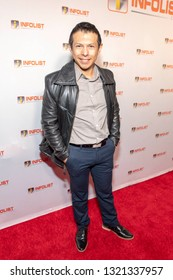 Hansel Ramírez attends 2019 InfoList's Pre-Oscars Soiree at Skybar at the Mondrian Hotel, West Hollywood, CA on February 20th, 2019