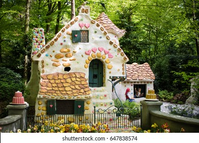 Hansel and Gretel fairytale at theme park The Efteling, Kaatsheuvel, The Netherlands 11 May 2017