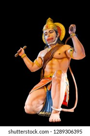Hanuman dada jayanti black background