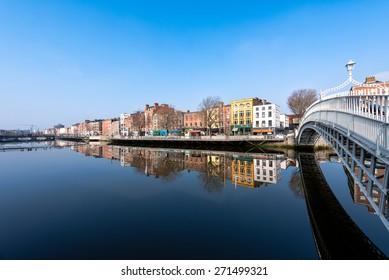 Ha'penny-Brücke in Dublin