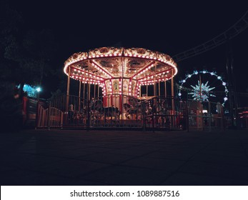 happiness carousel for childhood