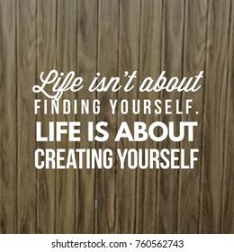 Happiness Quote Happy Positive Life Stock Photo Edit Now 760562710