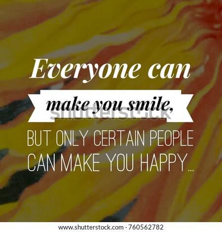 Happiness Quote Happy Positive Life Stock Photo Edit Now 760562782