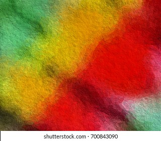 happiness theme graphic illustration paint like background