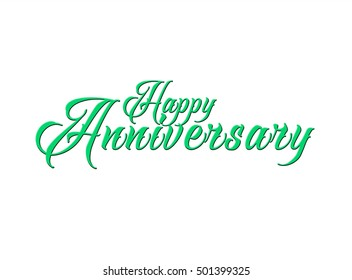 Happy anniversary Greeting card background