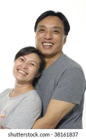 Sexy asian couples having sex