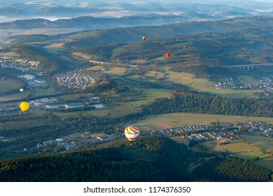 Happy ballooning over the west of Germany
