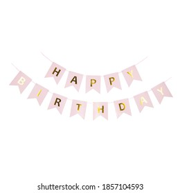 happy birthday banner card for boys and girls