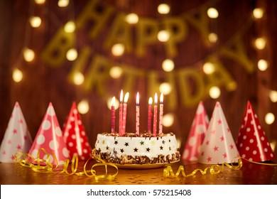 Astounding Happy Birthday Cake Images Stock Photos Vectors Shutterstock Funny Birthday Cards Online Alyptdamsfinfo